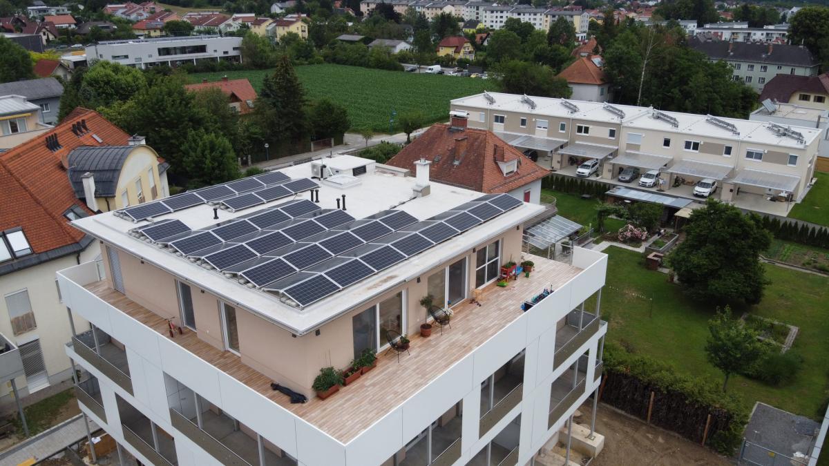 Photovoltaik Gleisdorf 2020